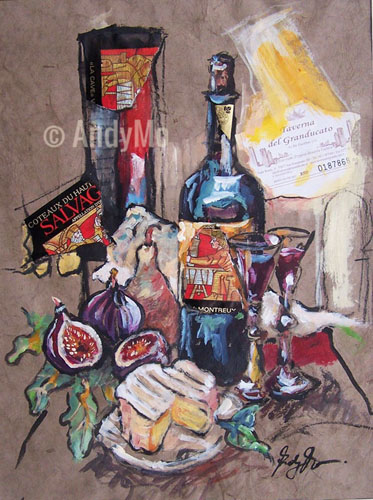 Taverna | 40 x 50 cm | Crossover Paperwork | AndyMo